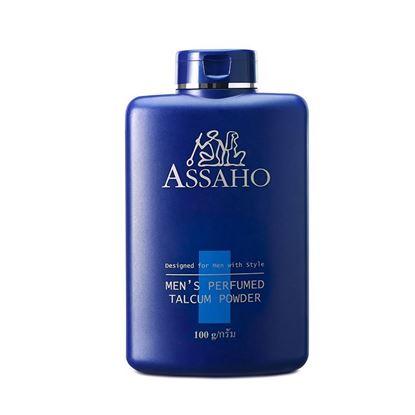รูปภาพของ ASSAHO  แป้งทัลคัมผสมน้ำหอมสำหรับสุภาพบุรุษ
